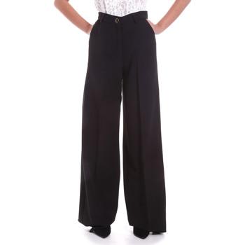 Textil Mulher Calças finas / Sarouels Fracomina F120W10069W05301 Preto
