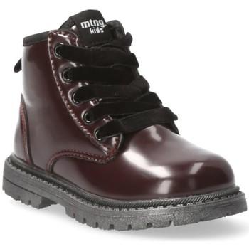 Sapatos Rapariga Botas baixas Mustang Kids 54219 vermelho