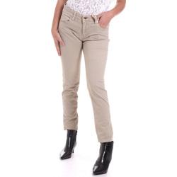 Textil Mulher Calças Gaudi 821BD25025 Bege