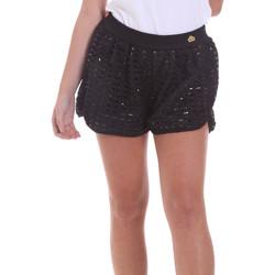 Textil Mulher Shorts / Bermudas Fornarina BE171M03H26400 Preto