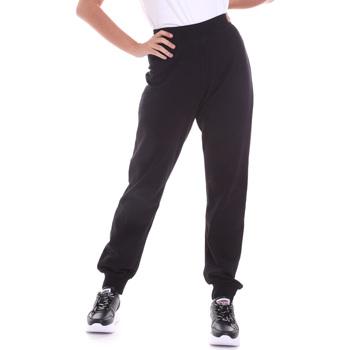 Textil Mulher Calças Key Up 5FI47 0001 Preto