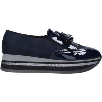 Sapatos Mulher Mocassins Grace Shoes GLAM004 Azul