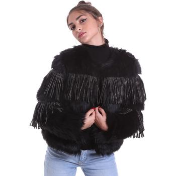 Textil Mulher Casacos  Gaudi 021FD39009 Preto