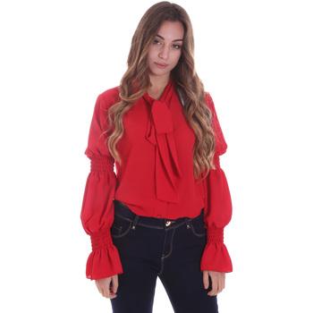Textil Mulher camisas Gaudi 021BD45025 Vermelho