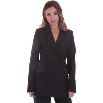 Textil Mulher Casacos/Blazers Gaudi 021FD35022 Preto