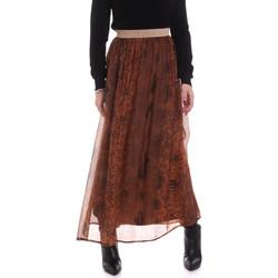 Textil Mulher Saias Gaudi 021FD75005 Castanho