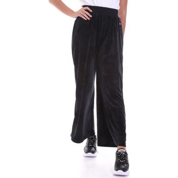 Textil Mulher Calças finas / Sarouels Key Up 5CS54 0001 Preto