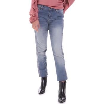 Textil Mulher Calças de ganga Gaudi 021BD26015 Azul