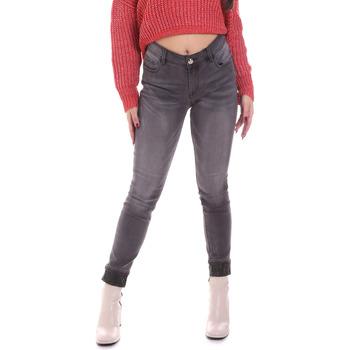 Textil Mulher Gangas Skinny Gaudi 021BD26024 Cinzento