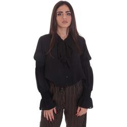 Textil Mulher Tops / Blusas Gaudi 021BD45025 Preto