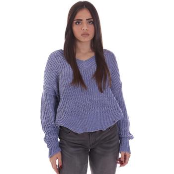 Textil Mulher camisolas Gaudi 021BD53014 Azul