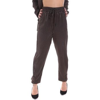 Textil Mulher Chinos Gaudi 021FD25017 Preto