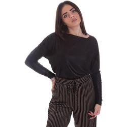 Textil Mulher T-shirt mangas compridas Gaudi 021FD64014 Preto