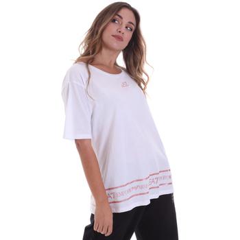 Textil Mulher T-Shirt mangas curtas Ea7 Emporio Armani 6HTT32 TJ52Z Branco