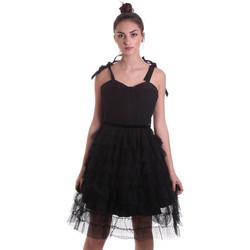 Textil Mulher Vestidos curtos Fracomina F120W14019W01201 Preto