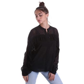 Textil Mulher camisas Fracomina F120W15014W00401 Preto