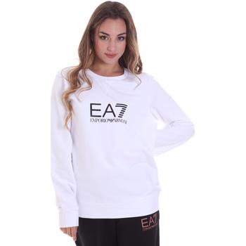 Textil Mulher Sweats Ea7 Emporio Armani 8NTM39 TJ31Z Branco