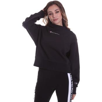 Textil Mulher Sweats Champion 113189 Preto