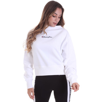 Textil Mulher Sweats Champion 113189 Branco
