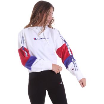 Textil Mulher Sweats Champion 113338 Branco