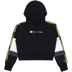 Textil Mulher Sweats Champion 113338 Preto