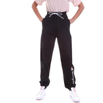 Textil Mulher Calças de treino Champion 113192 Preto