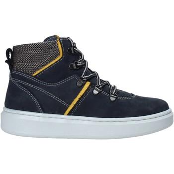 Sapatos Criança Sapatilhas de cano-alto NeroGiardini I023970M Azul