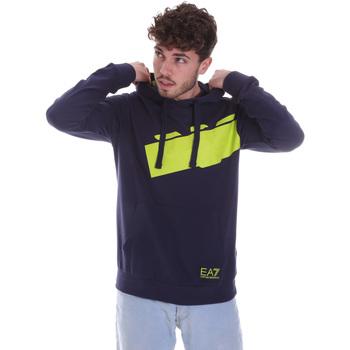 Textil Homem Sweats Ea7 Emporio Armani 6HPM78 PJ05Z Azul
