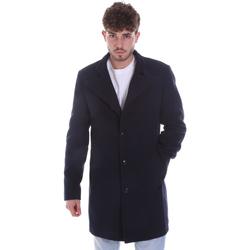 Textil Homem Casacos Gaudi 021GU35065 Azul