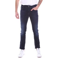 Textil Homem Calças de ganga slim Gaudi 021GU26002L32 Azul