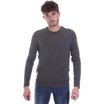 Textil Homem T-shirt mangas compridas Gaudi 021GU64022 Cinzento