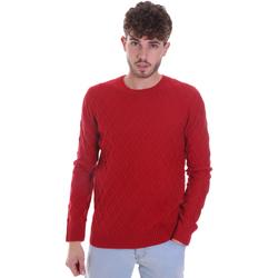 Textil Homem camisolas Gaudi 021GU53034 Vermelho