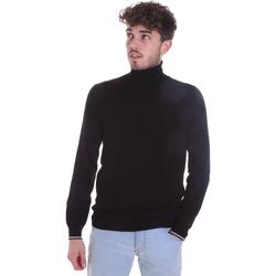 Textil Homem camisolas Gaudi 021GU53003 Preto