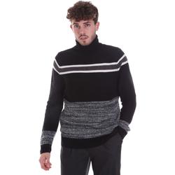 Textil Homem camisolas Gaudi 021GU53040 Preto