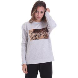 Textil Mulher Sweats Calvin Klein Jeans K20K202453 Cinzento