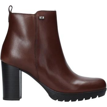 Sapatos Mulher Botins Valleverde 49370 Castanho