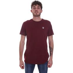 Textil Homem T-Shirt mangas curtas Fila 682393 Vermelho