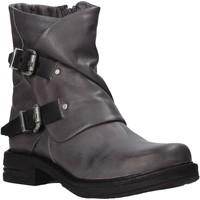 Sapatos Mulher Botins Bueno Shoes 8K3502 Cinzento