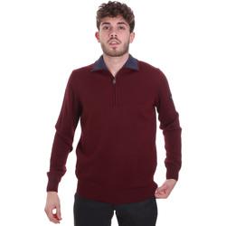 Textil Homem camisolas Navigare NV12006 51 Vermelho