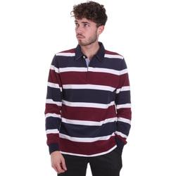 Textil Homem Polos mangas compridas Navigare NV30026 Vermelho