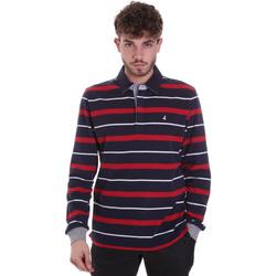 Textil Homem Polos mangas compridas Navigare NV30030 Azul