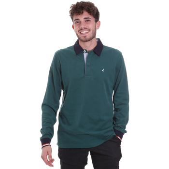 Textil Homem Polos mangas compridas Navigare NV32023 Verde