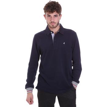 Textil Homem Polos mangas compridas Navigare NV32023 Azul