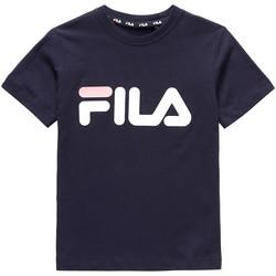 Textil Criança T-Shirt mangas curtas Fila 688021 Azul