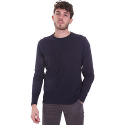 Textil Homem T-shirt mangas compridas Sseinse MI1691SS Azul