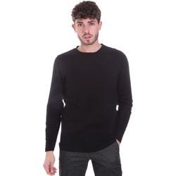 Textil Homem T-shirt mangas compridas Sseinse MI1691SS Preto