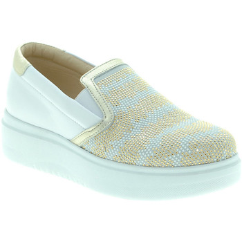 Sapatos Mulher Slip on Exton E02 Branco