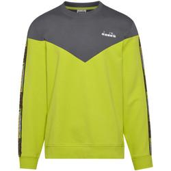 Textil Homem Sweats Diadora 502176428 Verde