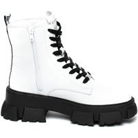 Sapatos Mulher Botas baixas Steve Madden SMSTANKER-WHTLEA Branco