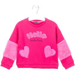 Textil Rapariga Sweats Losan 026-6023AL Rosa